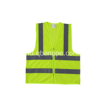 hi vis yellow reflective safety vest